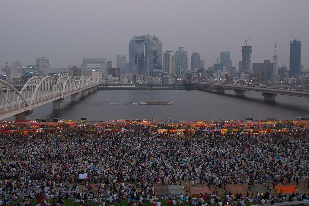 淀川花火大会 屋台